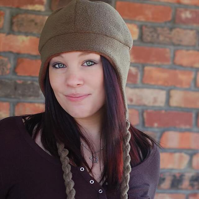 Adult Fleece Hat Pattern