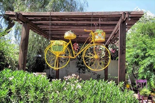 DIY Flower Planter Idea