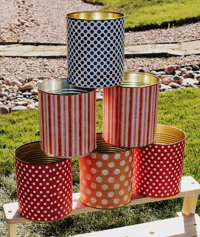 Tin Can Game Crafts Idea