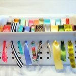 15 DIY To Organize Gift Wrapping Essentials