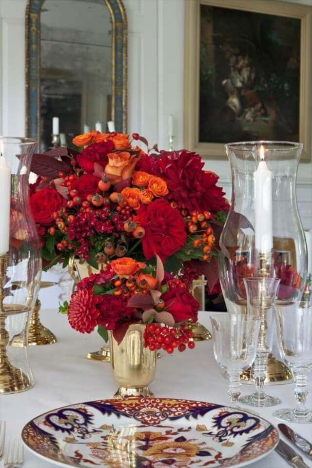 Glamorous Reds and Oranges