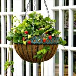 10 DIY Hanging Basket Vertical Garden