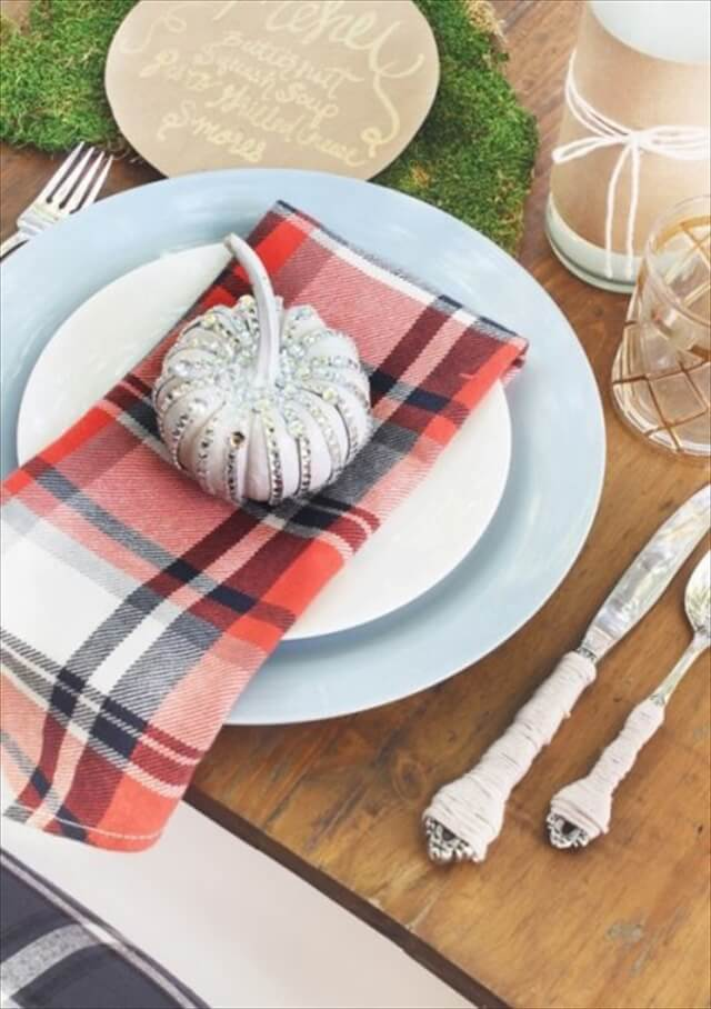 Plaid Napkins
