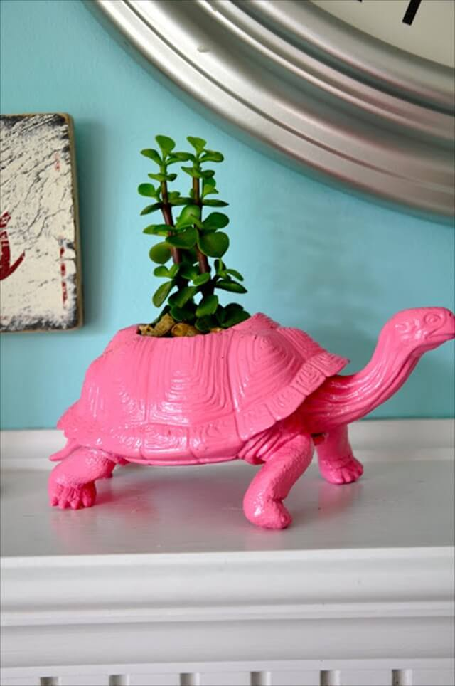 Plastic Figurine Planters