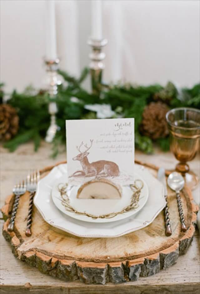 13 diy elegant thanksgiving decor ideas diy to make for Elegant table setting for thanksgiving