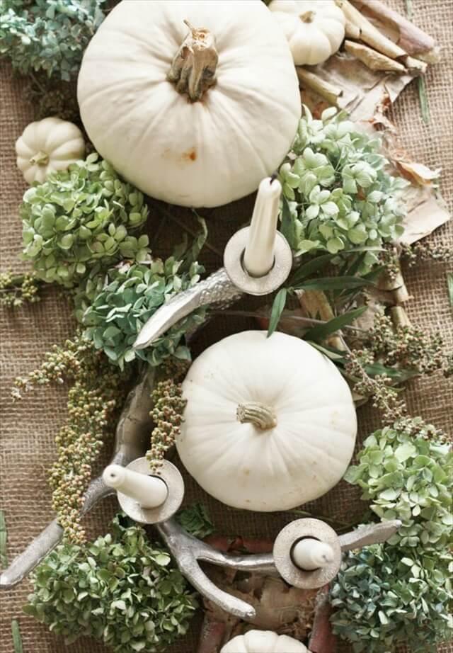 white-pumpkins-green-hydrangeas