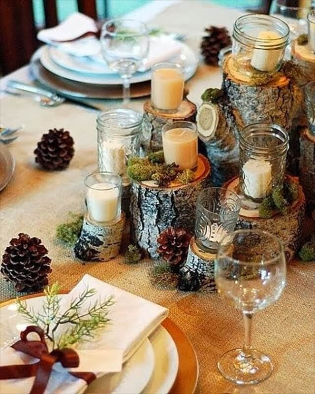 woodland-centerpiece-rustic