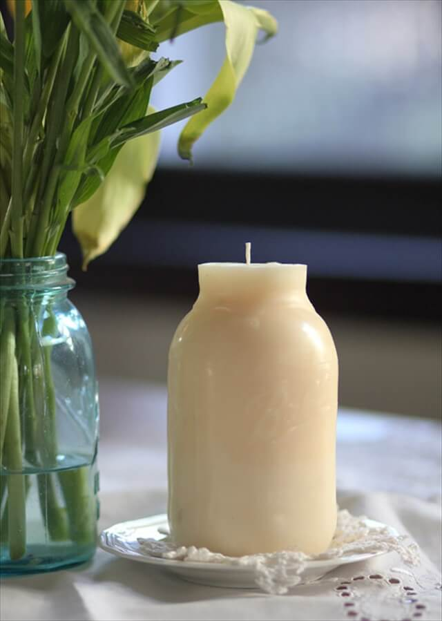 Beautiful homemade candle molds ideas diy