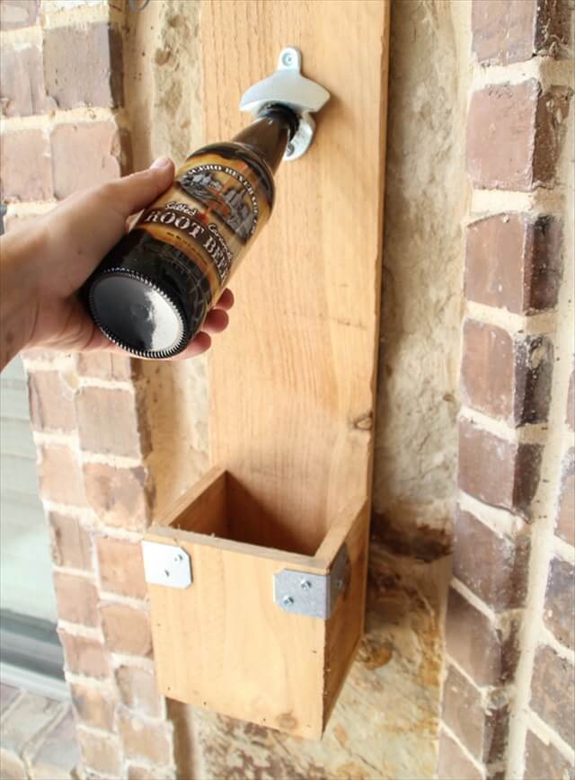 DIY Cedar Bottle Opener