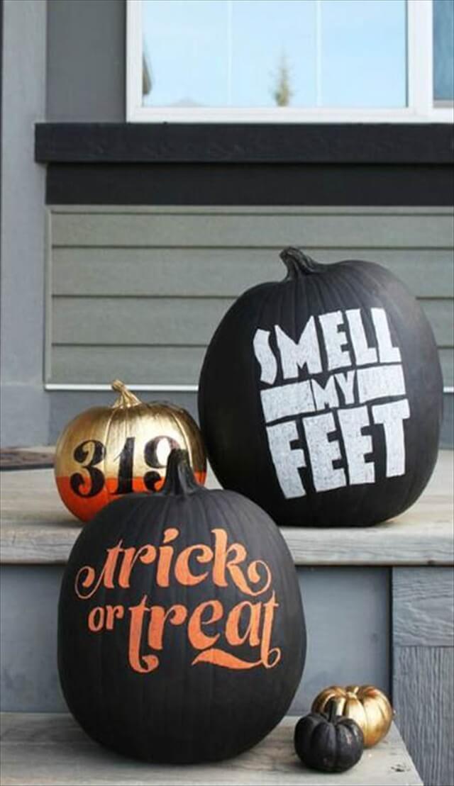 Chalkboard Pumpkins Design