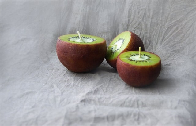 Kiwi Candles Handpainted Ball Candles