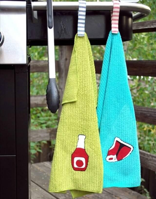 BBQ Hanging Towels