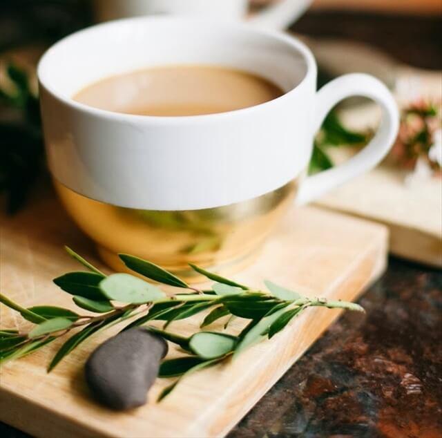 Golden Dipped Coffee Mug