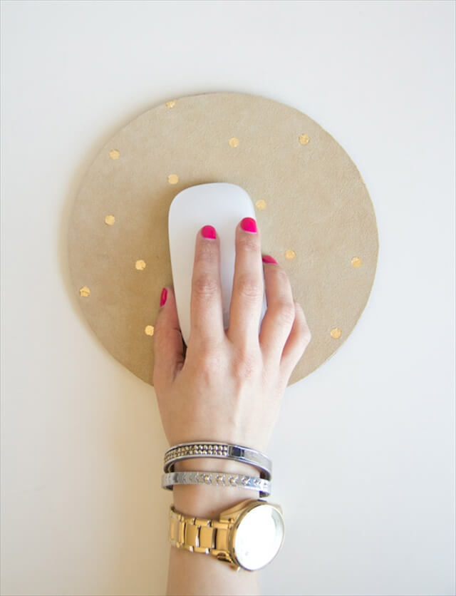 Gold Leaf Mousepad