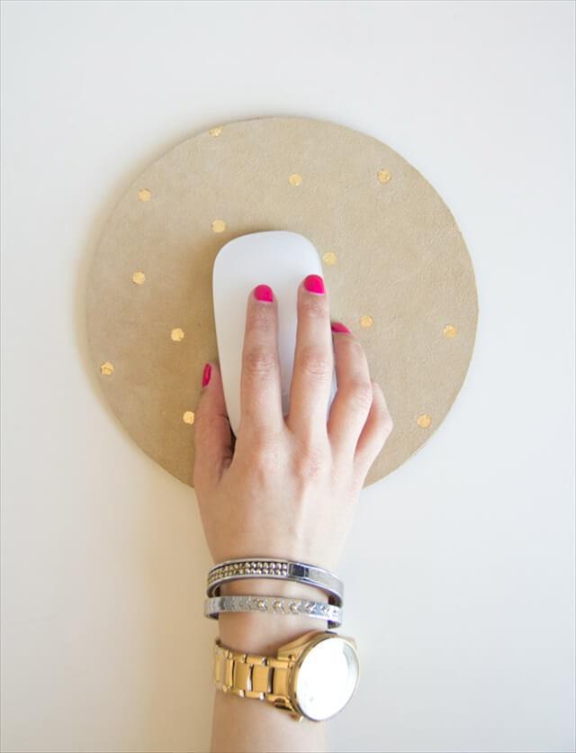 Gold Leaf Mousepad