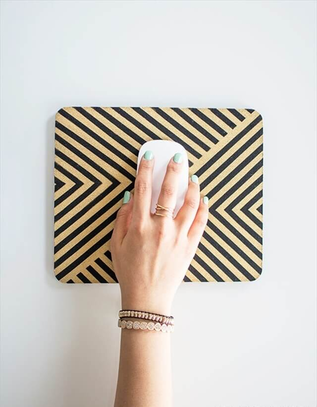 Striped Mousepad
