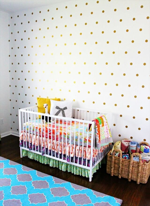 Polka-Dot Wall