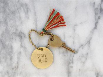 Stamped Brass