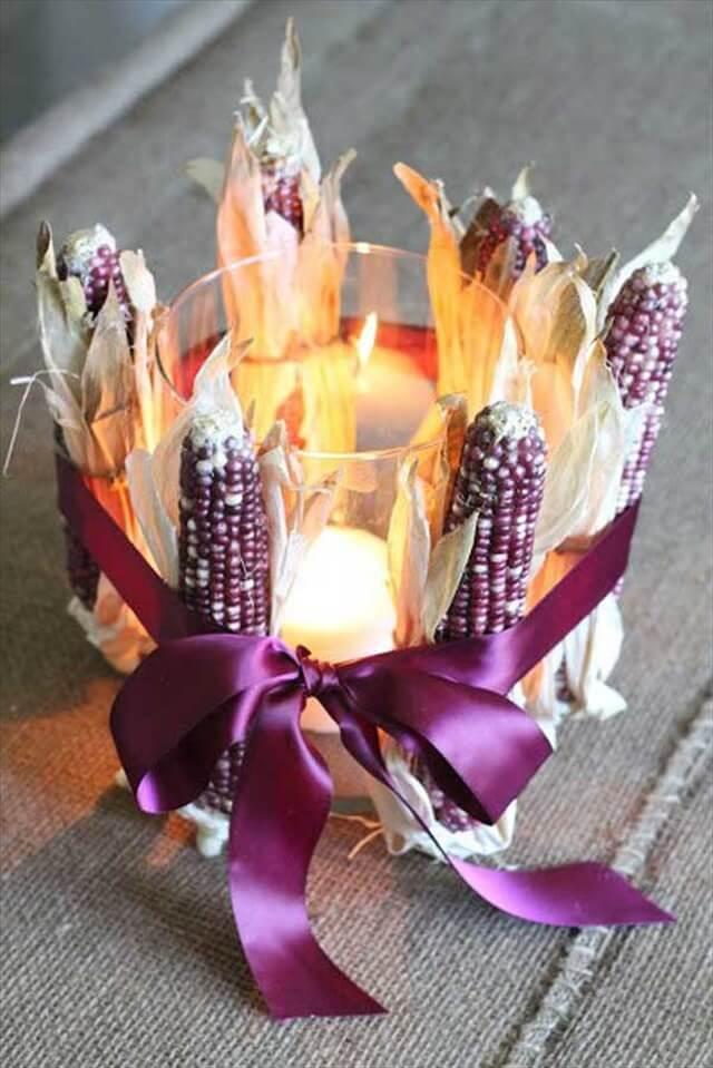 glass candle holder idea