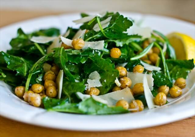 Baby Kale, Lemon & Chickpea