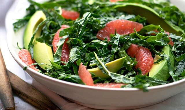 Kale & Pink Grapefruit