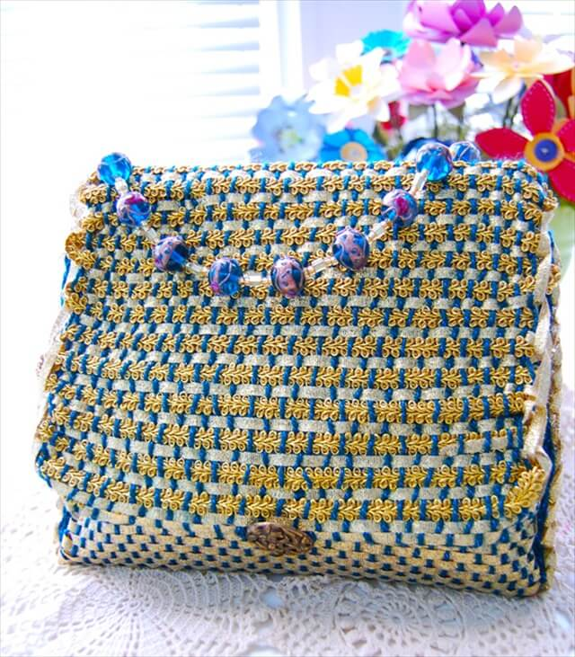 Woven Evening Purse