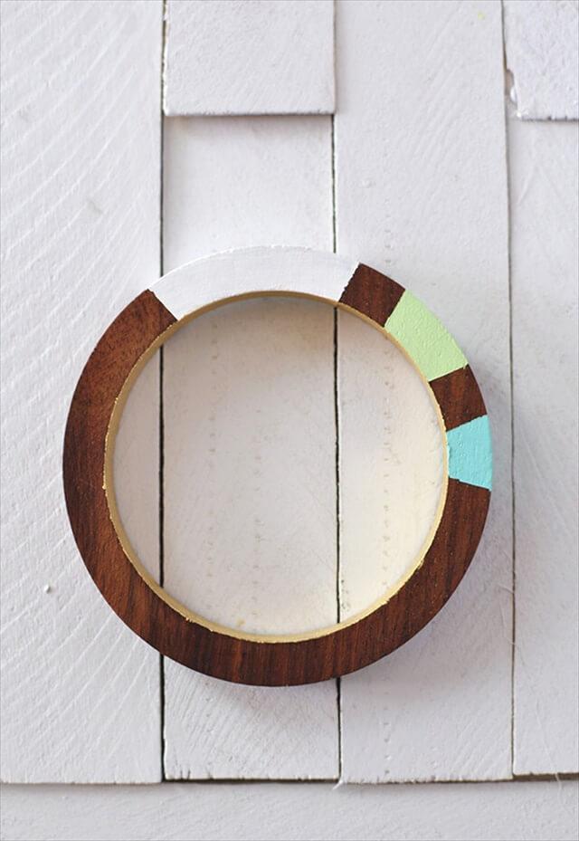 Painted Wooden Bracelet