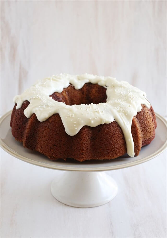 Red Velvet Swirl Bundt