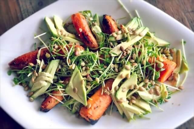 Roasted Carrot & Avocado