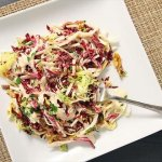 Walnuts, Apples & Parmesan-Anchovy Dressing