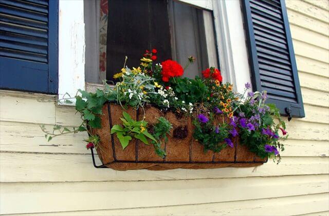 simple window box