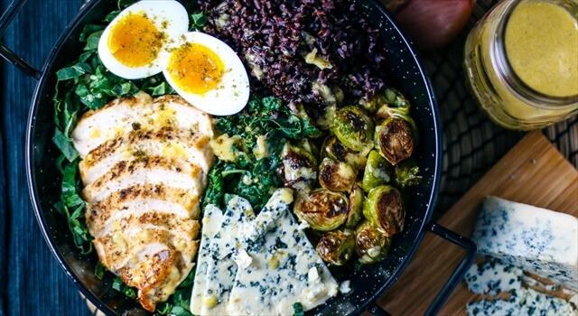 Chicken & Kale