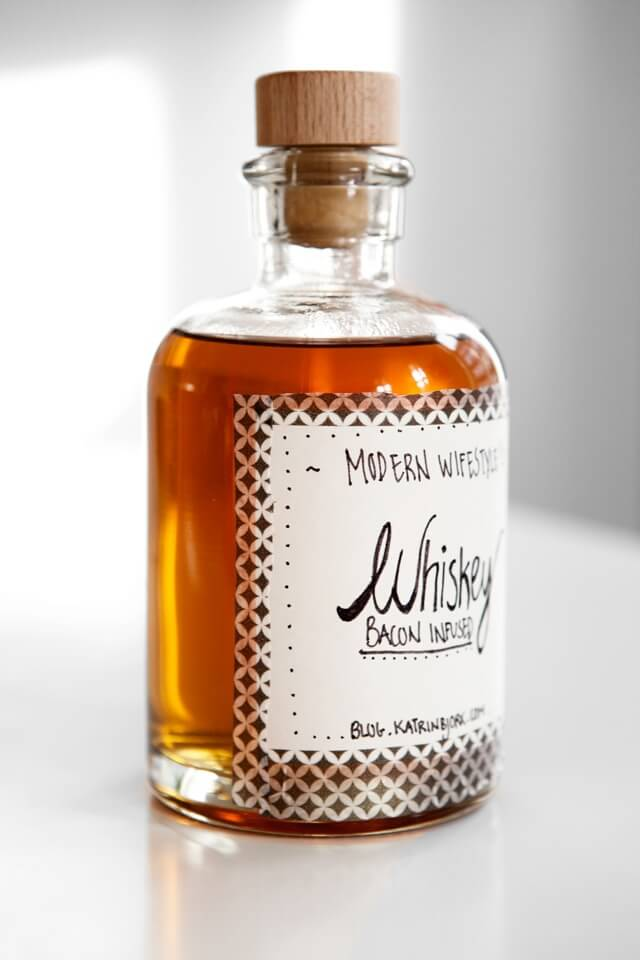 Bacon Infused Whiskey