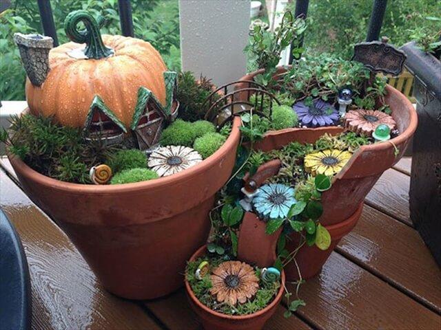 Clau Pots Garden