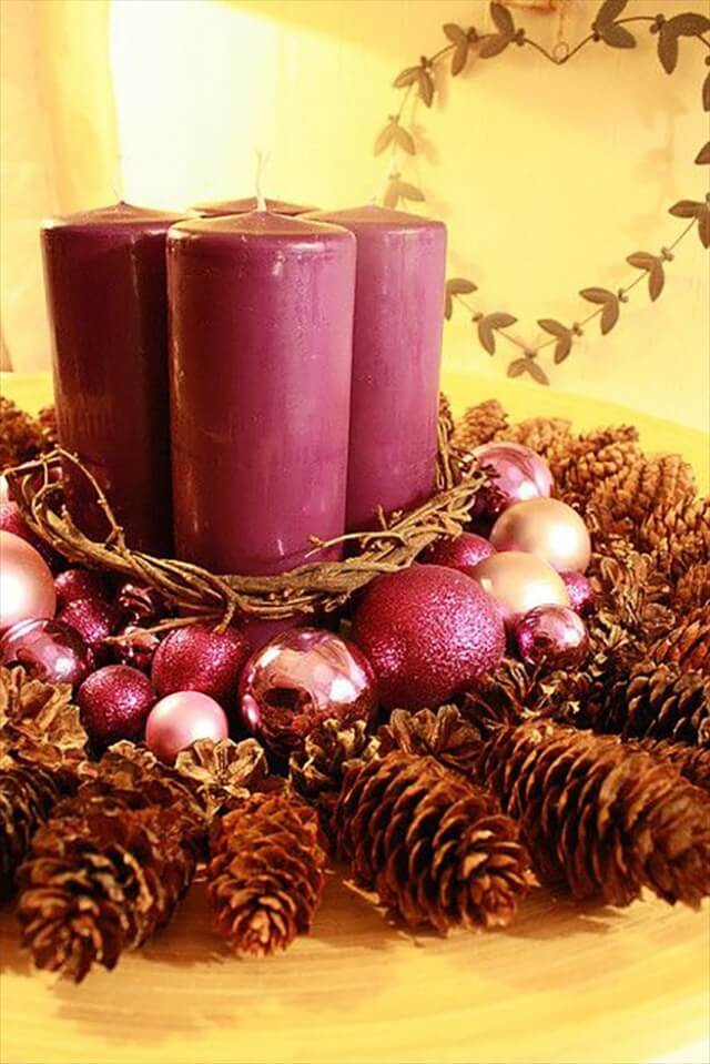 Cheap and Easy DIY Christmas Centerpieces