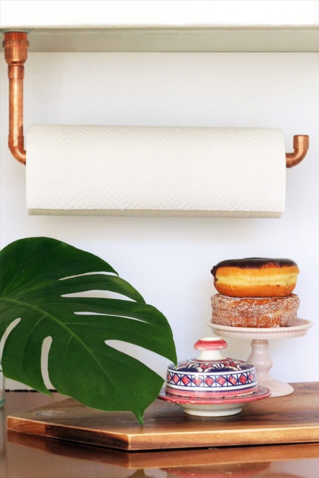 Copper Paper Towel Holder