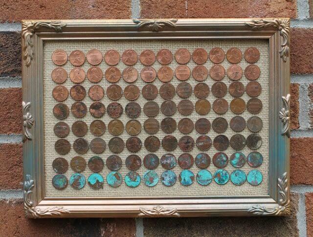 Ombré Penny Art