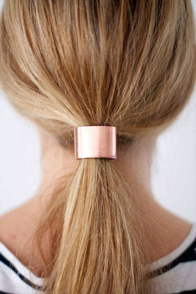 Copper Hair Cuff