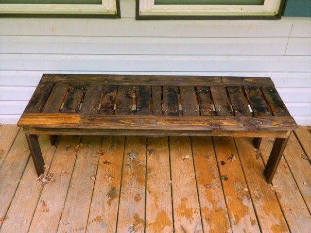 pallet sofa bench