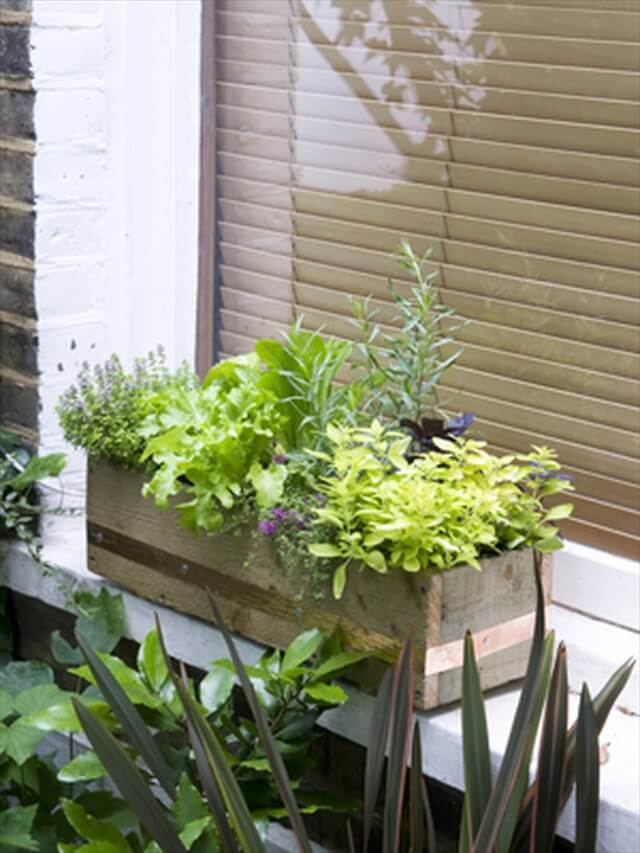 outdoor window box