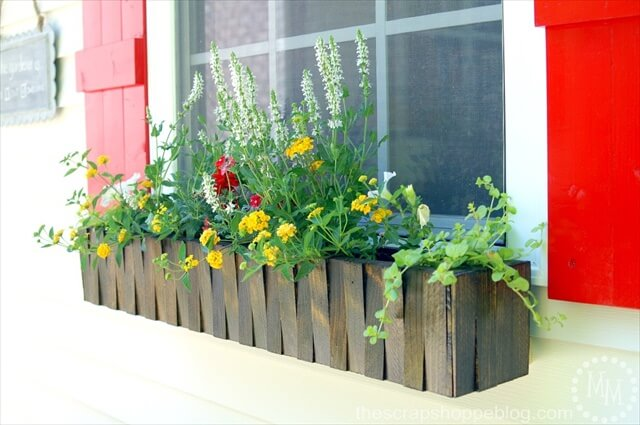 flower window box design