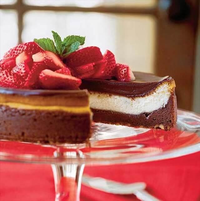 Chocolate Fudge Cheesecake