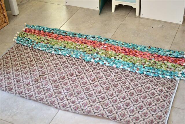 Swedish Braided Rag Rug Tutorial Native Carpet