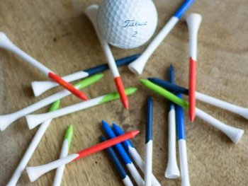 DIY Painted Golf Tees