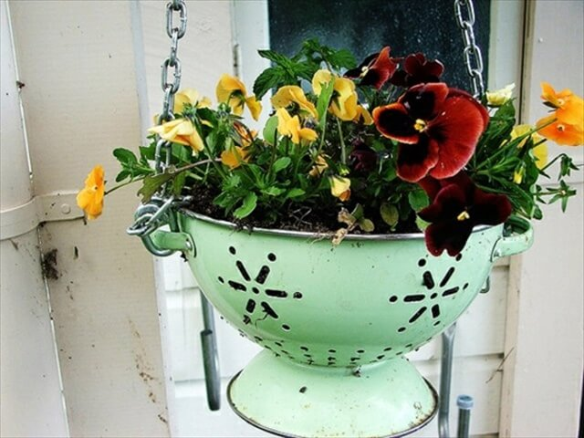 diy beauitul hanging basket