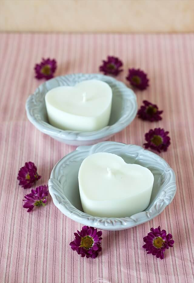 Heart Soy Candles