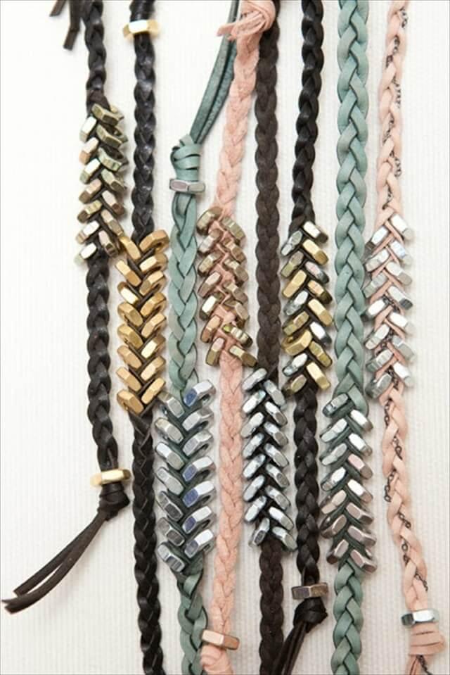 Hex Nut Bracelets