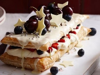 White Chocolate Mille Feulle
