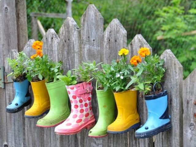 shoes planters