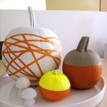 24 DIY No-Carve Pumpkin Decorating Ideas